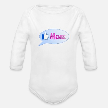 Memes memee - Organic Long-Sleeved Baby Bodysuit