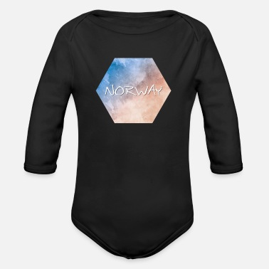 Norway Norway - Norway - Organic Long-Sleeved Baby Bodysuit