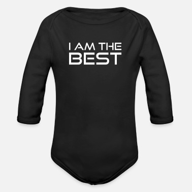 Best Best - Organic Long-Sleeved Baby Bodysuit