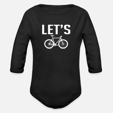 Biking Bike Bike - Organic Long-Sleeved Baby Bodysuit