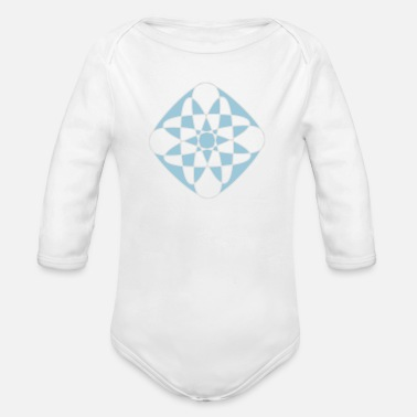 Rave Wear Abstract Rave wear - Baby Bio Langarmbody