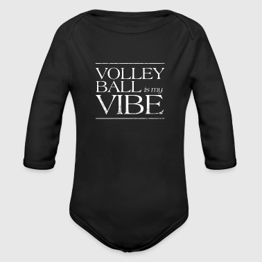 Volleyball volleyball beach volleyball gift - Organic Longsleeve Baby Bodysuit