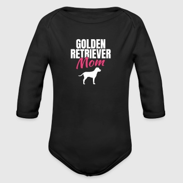 Golden Retriever Golden Retrievers - Body bébé bio manches longues