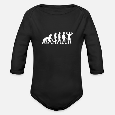 Muscleman Evolution Muscleman - Baby Bio Langarmbody