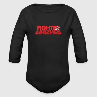 Fighter Finisher - Organic Longsleeve Baby Bodysuit