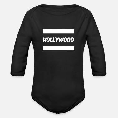 Hollywood Hollywood - Body bébé bio manches longues