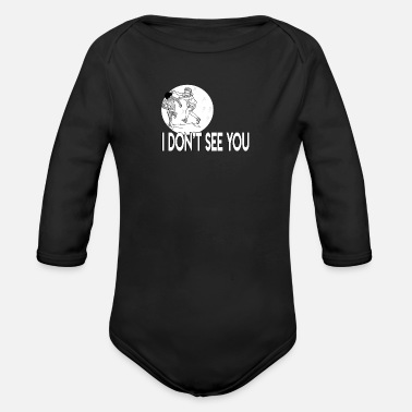 Eye Patch Blindfold eye patch - Organic Long-Sleeved Baby Bodysuit