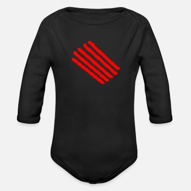 Scratch scratch - Organic Long-Sleeved Baby Bodysuit