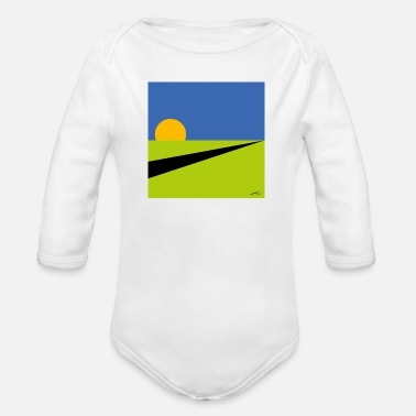 Meadow Meadow - Organic Long-Sleeved Baby Bodysuit