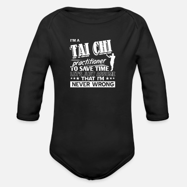 Martial Arts Tai Chi - Organic Long-Sleeved Baby Bodysuit