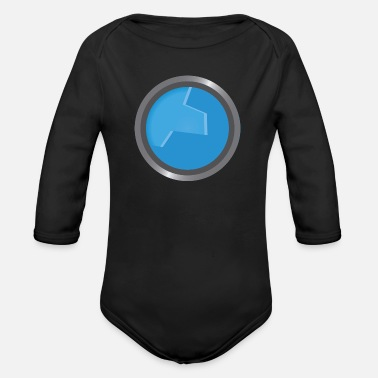 Windows window - Organic Longsleeve Baby Bodysuit