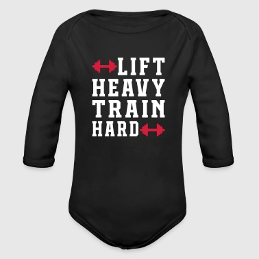 Lift Heaven Train dur - Body bébé bio manches longues