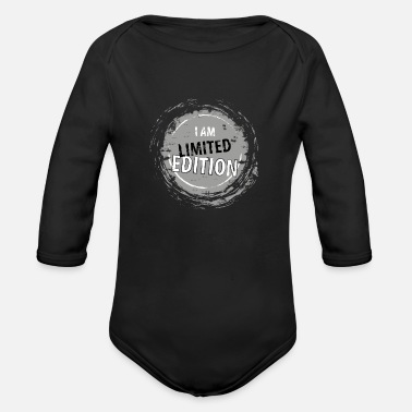 Limited Edition Ik ben limited edition Ik ben limited edition - Baby bio-rompertje met lange mouwen