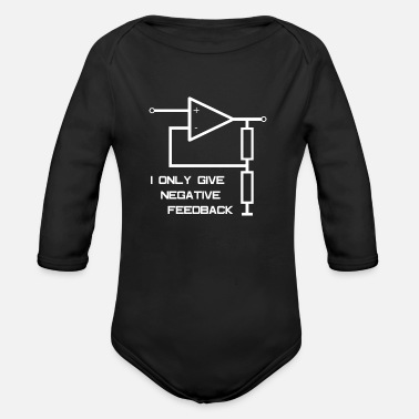 Amplifier Electrical engineering operational amplifier - Organic Long-Sleeved Baby Bodysuit