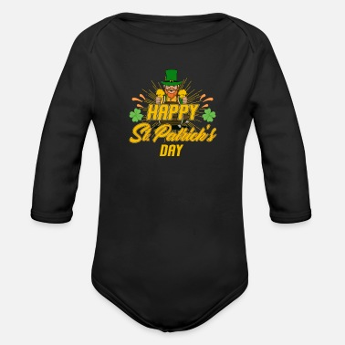 Lucky Charm lucky charm - Organic Long-Sleeved Baby Bodysuit