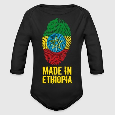 Made In Ethiopia / Ethiopia / ኢትዮጵያ - Organic Longsleeve Baby Bodysuit
