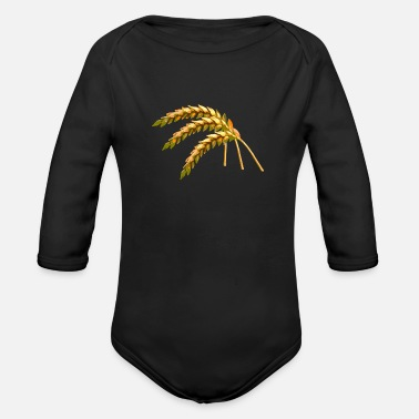 Grain grain - Organic Long-Sleeved Baby Bodysuit