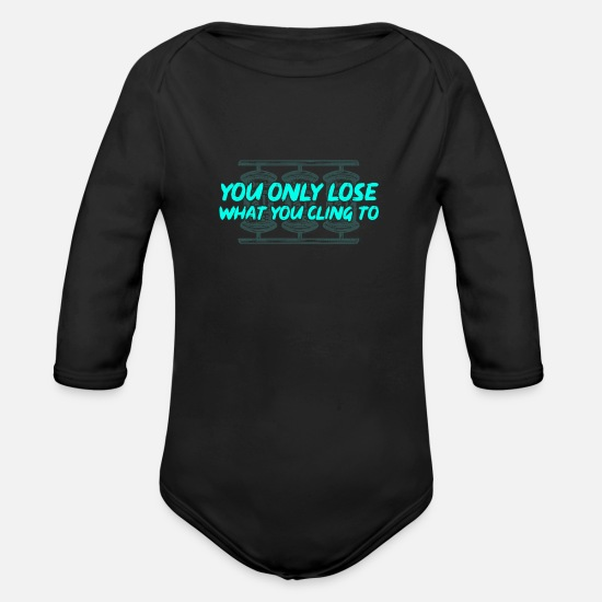 Buddhism Baby Clothes - Buddhism - Organic Long-Sleeved Baby Bodysuit black