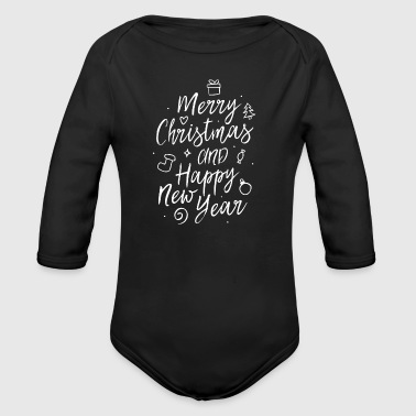 Merry Christmas and a happy new year - Baby Bio-Langarm-Body