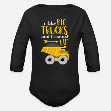 Convoi I Like Big Trucks And I Cannot Lie - Baby Bio Langarmbody