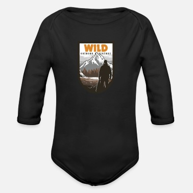 Outdoor Wilderness Outdoor Adventure - Body bébé bio manches longues
