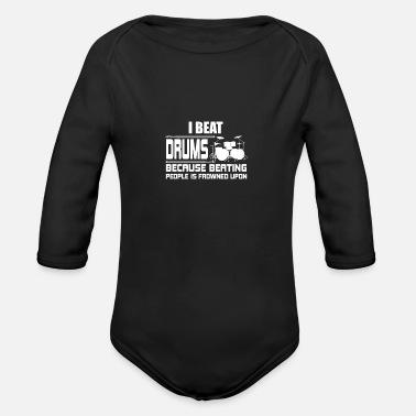 5b407c8fc Trommeshirt Trommeslagers gave · Mennesker Langarmet baby-T-skjorte - azalea