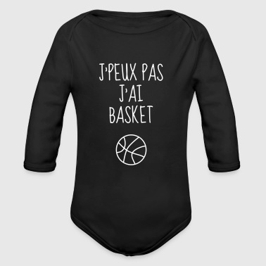 Basketball - Basket ball - Basket-ball - Baskette - Body bébé bio manches longues