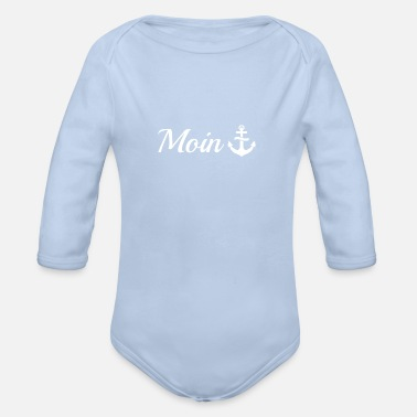 Moin Moin - Organic Long-Sleeved Baby Bodysuit