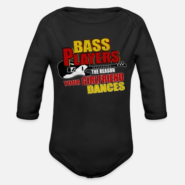 Bass Bass bass - Organic Long-Sleeved Baby Bodysuit
