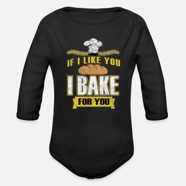 Bakery Bakery bakery - Organic Long-Sleeved Baby Bodysuit