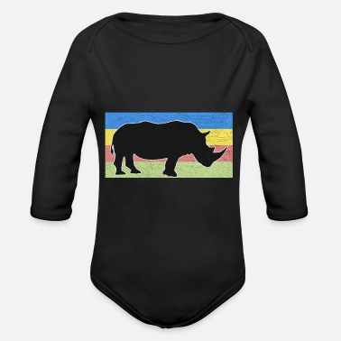Pachyderm pachyderm - Organic Long-Sleeved Baby Bodysuit