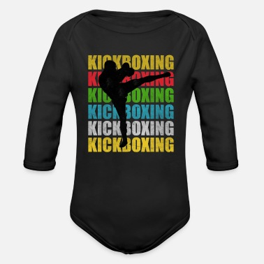 Kicker Kick-Boxing Kick-Boxing Kick-Boxing - Body Bébé bio manches longues