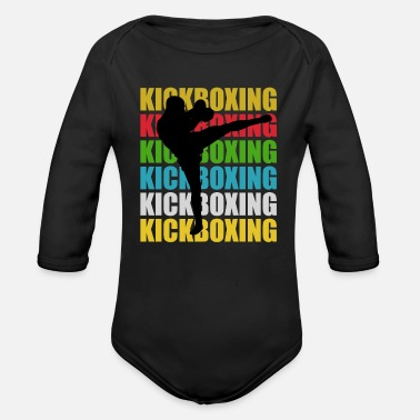 Kicker Kick-Boxing Kick-Boxing - Body Bébé bio manches longues