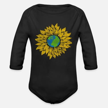 Nature Conservation Nature lovers conservation - Organic Long-Sleeved Baby Bodysuit