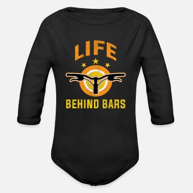Bike Messenger Bicycle Messenger - Organic Long-Sleeved Baby Bodysuit