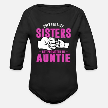 Aunt aunt - Organic Long-Sleeved Baby Bodysuit