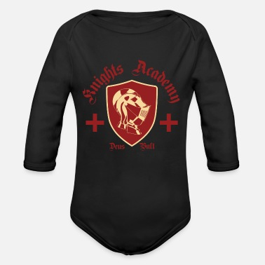 Academy Knight Academy - Organic Long-Sleeved Baby Bodysuit