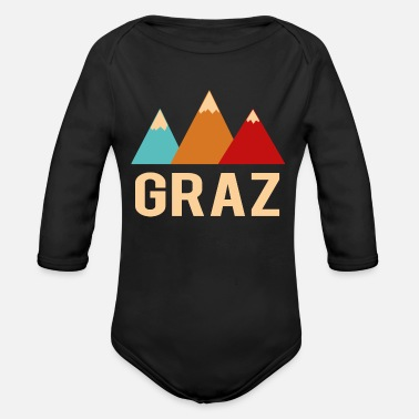 Graz graz - Organic Long-Sleeved Baby Bodysuit