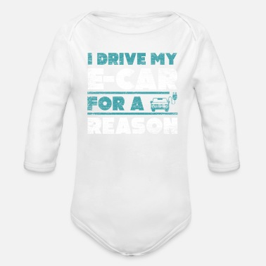Electric Car Electric car electric car - Organic Long-Sleeved Baby Bodysuit