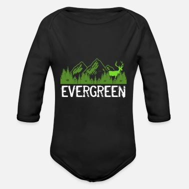 Evergreen Evergreen - Organic Long-Sleeved Baby Bodysuit