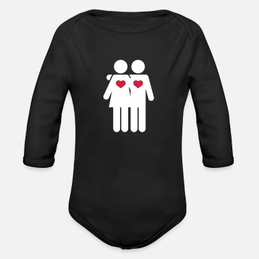 Carnival Lovers - Organic Long-Sleeved Baby Bodysuit