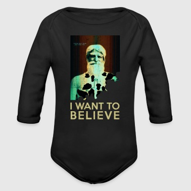Fetish I want to believe - preacher god and fetish - Organic Longsleeve Baby Bodysuit