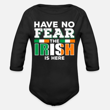 Funny Irish Irish Ireland - Organic Long-Sleeved Baby Bodysuit