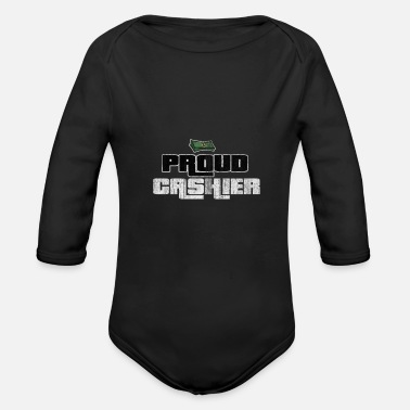Checkout Checkout Sale Service Cash Gift - Organic Long-Sleeved Baby Bodysuit