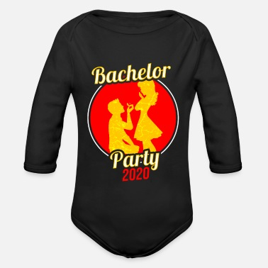 Bachelor Party Bachelor bachelor party Bachelor party - Organic Long-Sleeved Baby Bodysuit