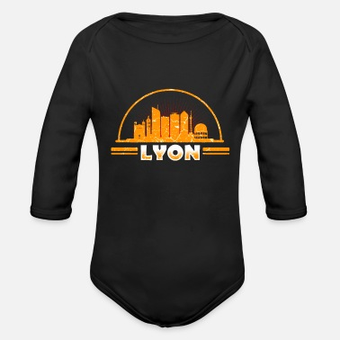 Lyon Lyon - Organic Long-Sleeved Baby Bodysuit