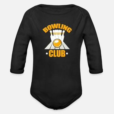 Bowling Club Bowling club - Organic Long-Sleeved Baby Bodysuit