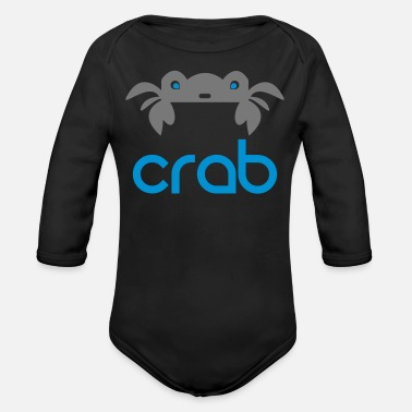 Crabe CRABE CRABE = - Body Bébé bio manches longues