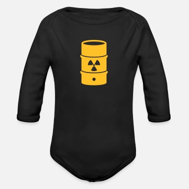 Nuclear waste - Organic Long-Sleeved Baby Bodysuit