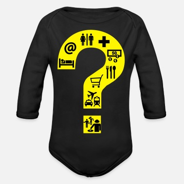 Tourist Tourist Talking Shirt - Rompertje met lange mouwen